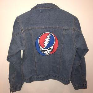 Vintage / Upcycled Grateful Dead Jean Jacket